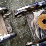 粗大ごみマサージチェアーを回収