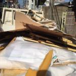 不用品板、布団、机の回収は片付け隊