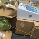 不用品回収トラック福岡市西区粗大ゴミ回収 遺品整理