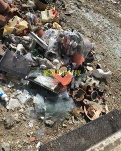 不用品燃えないゴミ回収について