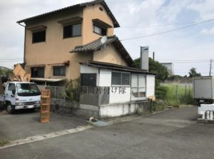 福岡県外の一軒家片付けも対応できます。福岡片付け隊
