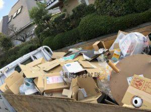 福岡市城南区荒江で不用品を回収してきました