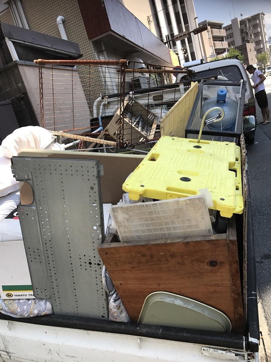 軽トラック不用品回収事例2