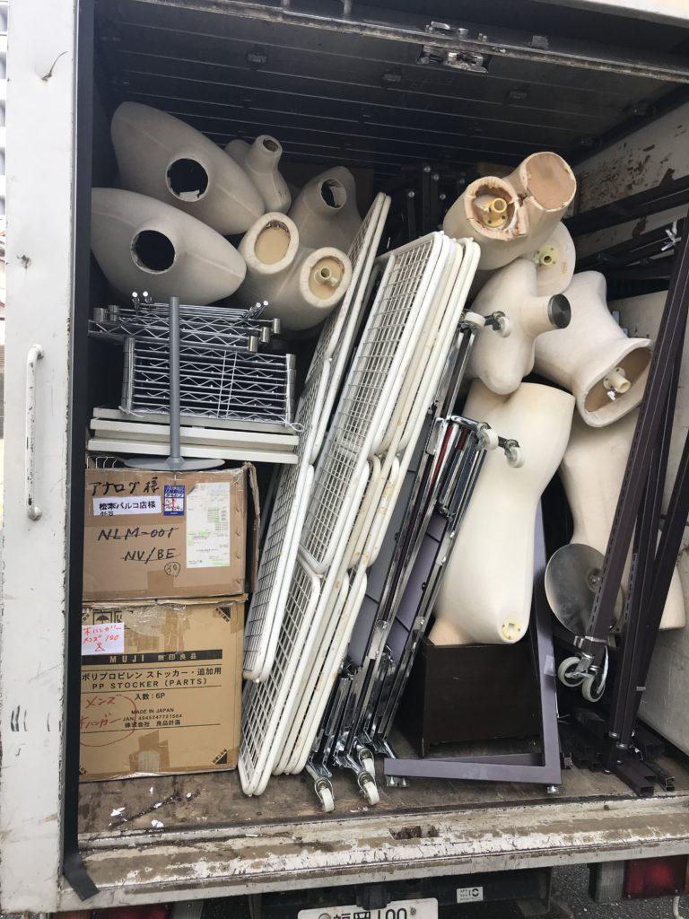 福岡市博多区のお客様より、店舗の倉庫内の不用品回収でのご依頼を頂きました