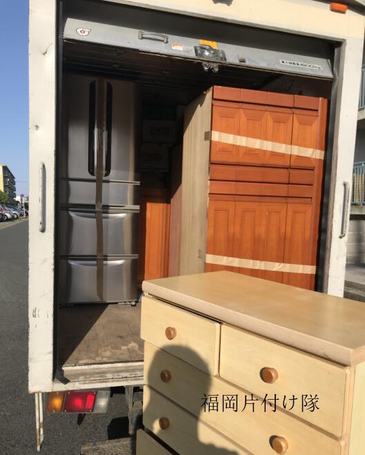 不用品回収 福岡県 福岡市 城南区 東油 粗大ゴミ 遺品整理