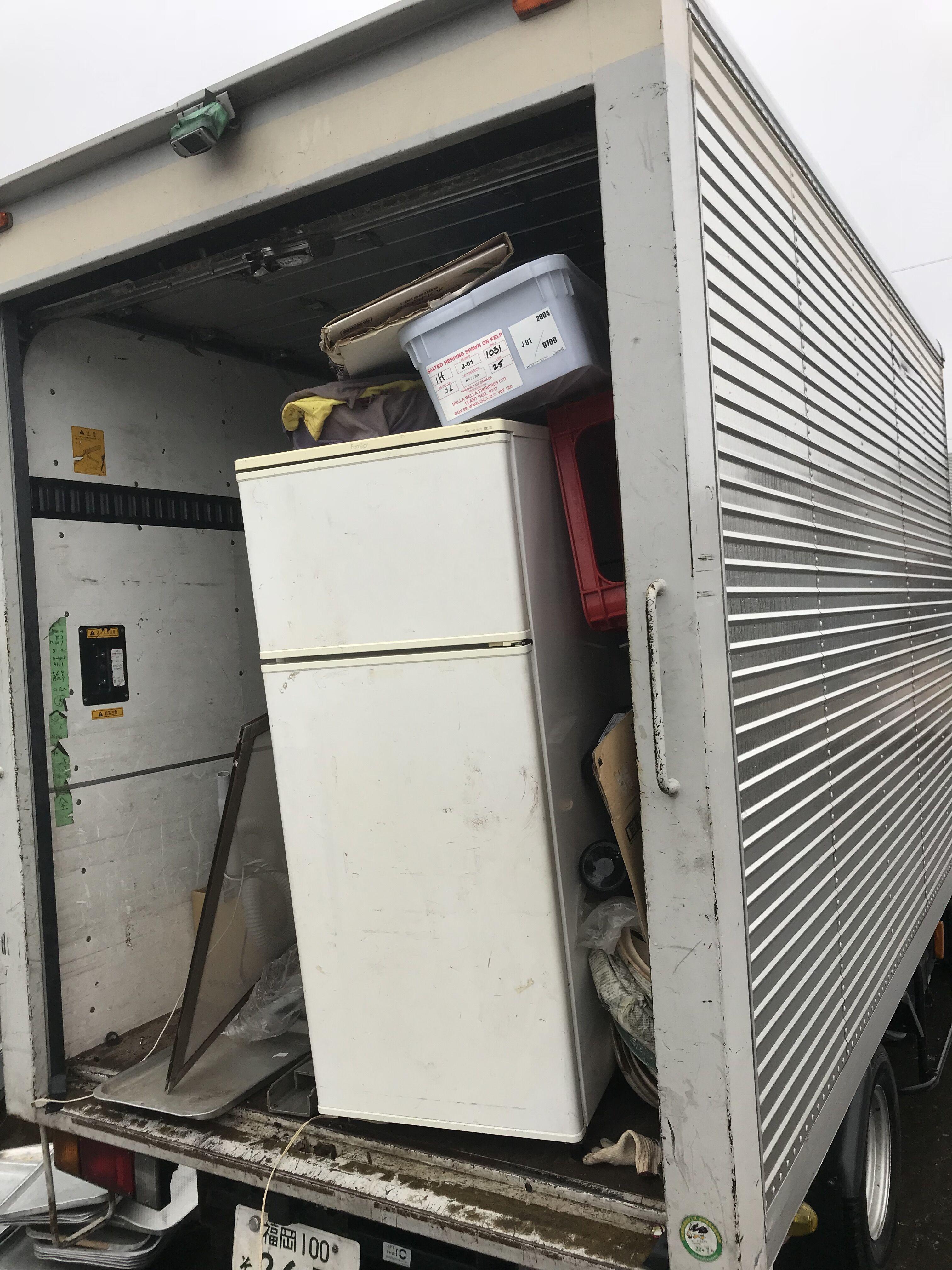 福岡で冷蔵庫処分の事なら福岡片付け隊