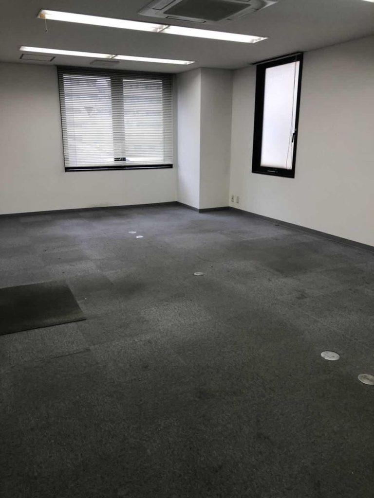 オフィスの不用品回収後