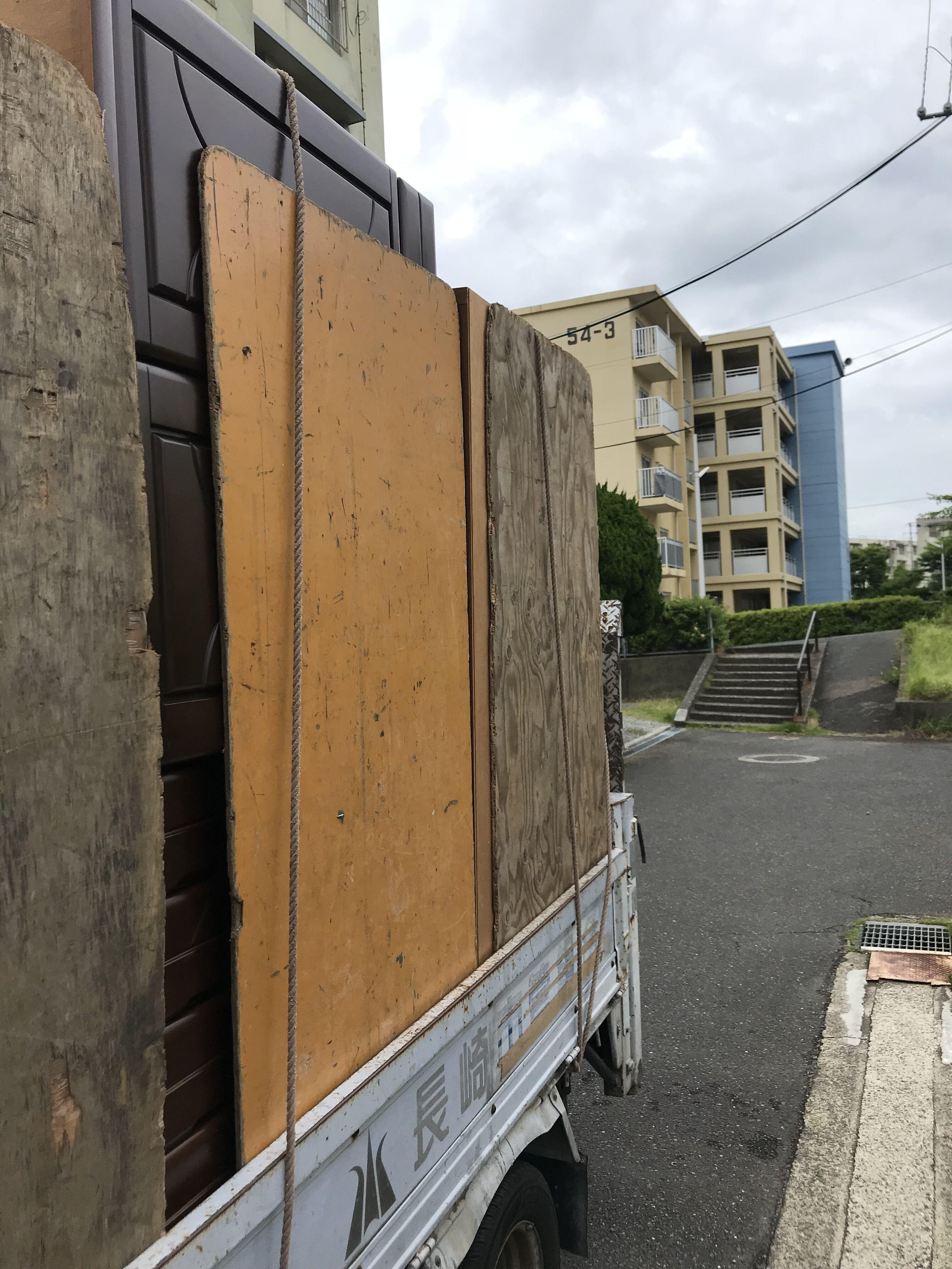 建て替えによるお引越し不用品回収、作業後