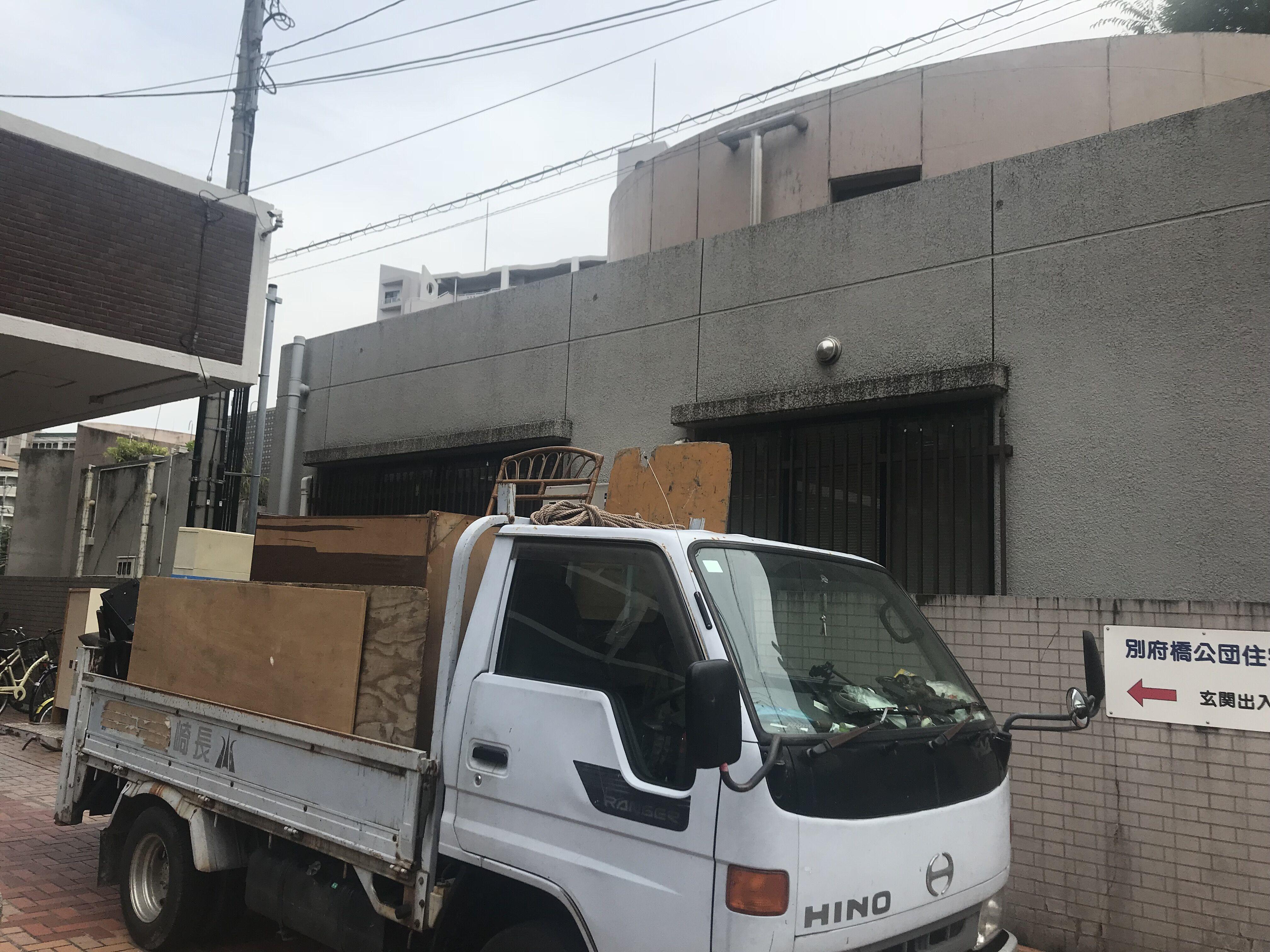 福岡県福岡市別府公団地 不用品回収作業 後