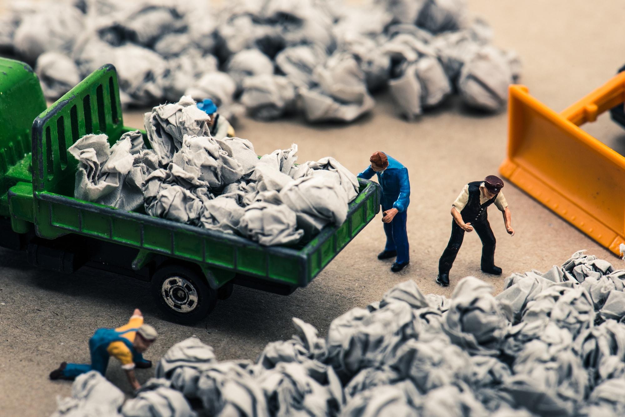 大量のゴミ処分に困った時はどうすればいい?