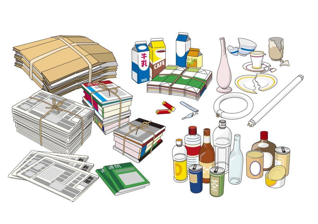 ゴミの種類イメージ