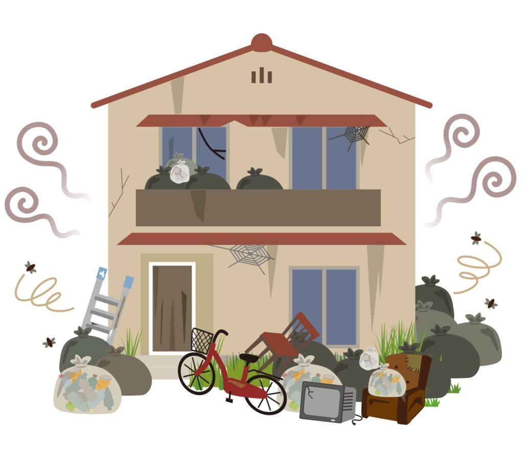 ゴミ屋敷 イメージ