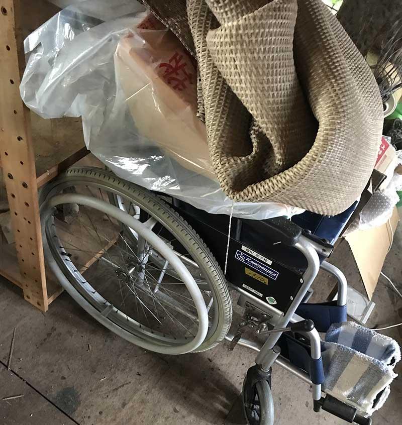 【回収実績】福岡市東区の老人ホームから車椅子を回収・処分しました