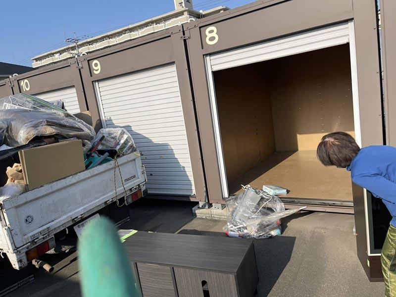 【回収実績】コンテナ倉庫の撤去前の片付け・不用品回収