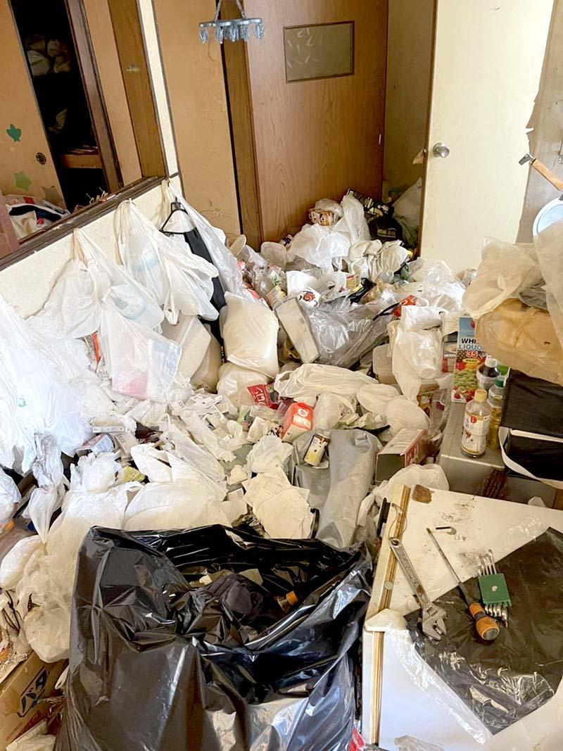福岡市博多区でゴミ屋敷の片付けをしました【回収実績】